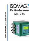 ISOMAG - ML210 - Electromagnetic Flow Meter Converter Graphic Display – Datasheet