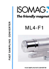 ISOMAG - ML4F1 - Electromagnetic Flow Meter Converter, With Batch Function – Datasheet