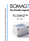 ISOMAG - ML 252 FLOWIZ - Battery Powered Electromagnetic Flow Meter Converter – Datasheet