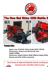 Red Rhino - Model 3200 Series - Mobile Screener - Brochure