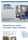 AMIS - Model Series ZBP ZBP 50, 60 and 70 - Briquetting Press- Brochure