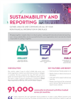 Sustainability and Reporting Solution Overview