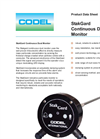 StakGard - Tribo Electric Indicative Dust Monitor Datasheet