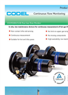 Codel - Model VCEM5000/5100 - Flue Gas Flow Monitor - Datasheet