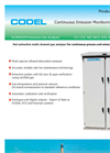 Codel - Model GCEM4100 - Multi Channel Extractive Flue Gas Analyser - Datasheet
