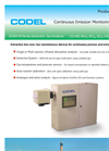 Codel - GCEM 40 Series - Extractive Gas Analyser - Datasheet