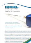 EnergyTech 301 Tribo Electric Dust Monitor Datasheet