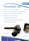 Codel TunnelTech - Model 204 - Visibility Monitor - Datasheet