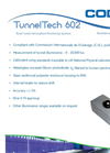 TunnelTech - Model 602 - Illuminance Photometer Monitor - Datasheet