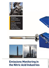 Nitric Acid Production Emissions Analysis - Brochure
