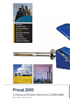Procal - Model 2000 - Analysers for Hazardous Areas - Brochure
