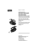 Parker - Model Series D1VW / D1VW*EE - Directional Control Valve - Brochure
