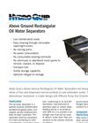 HQI - Above Ground Rectangular Oil Water Separator Brochure
