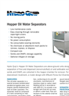 HQI - Hopper Oil Water Separators Brochure