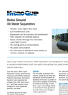 HQI - Below Ground Oil Water Separators Brochure