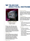 3000PA - Panel Mount Percent Oxygen Analyser Brochure