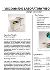 PAC Cambridge Viscosity - Model VISCOlab 5000 - Micro Sample Viscometer - Brochure
