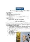 Vector PCX Preventative Maintenance Procedure Brochure