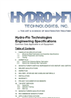 HydroCell - Automatic Backwashing Sand Multi Media Filters Brochure