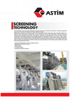ASTIM - Screening Technology - Brochure
