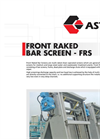 ASTIM - Front Raked Bar Screen - Brochure