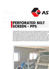 ASTIM - Perforated Belt Screen - Brochure
