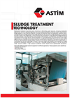 ASTIM - Sludge Treatment Technology - Brochure