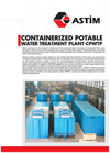 ASTIM - Containerized Potable Water Treatment Plant - Brochure