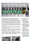 SHRED Waste Grinders Datasheet