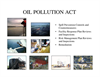 Oil Pollution Act Services Brochure