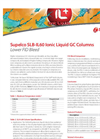 Lower FID Bleed: SLB-IL60 Ionic Liquid GC Columns