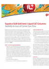 Stability to Loss of Carrier Gas Flow: Supelco SLB-IL60 Ionic Liquid GC Columns