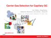 Carrier Gas Selection for Capillary GC