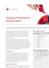 Analysis of Herbicides in Drinking Water Using Ascentis® Express RP-Amide and Ascentis Express F5 HPLC Columns