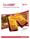 TraceCERT® CRM Solutions for ICP, AAS and IC