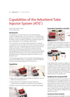 Capabilities of the Adsorbent Tube Injector System (ATIS™)