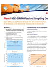 DSD-DNPH Passive Sampling Device: Product Flyer