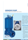Heavy Duty Submersible Cutter Pump  Brochure