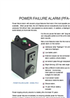 Brochure - Power Fail Alarm (PFA-4)