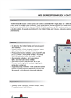 Model WS1P-TP - Single Phase Simplex Control Panel Brochure