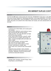 Model WD1P-4 - Single Phase Duplex Control Panel - Brochure