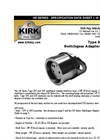 Kirk-Key - Type SA1 & SA2 - Switchgear Adapter Interlock Brochure