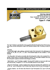 Kirk-Key - Model SD Series Type F - Flat Mounted Interlock - Brochure