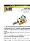 Kirk-Key - Model MD Series Type F - Medium Duty Flat Mounted Interlock - Brochure