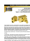 Kirk - Model SD Series Type D - Door Mounted (Detachable) Interlock - Brochure