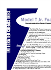 Model T Jr. Foamer - Decontamination Foam Cleaning System - Brochure