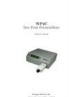 Decagon - Model WP4C - Dew Point Potentia Meter User Manual