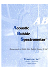 ABS Acoustic Bubble Spectrometer Brochure