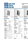 5018 7Channel Thermocouple Input Module Brochure