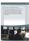 Security Consulting Services Brochure
